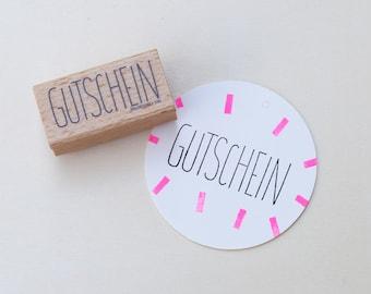 Stamp | Gutschein