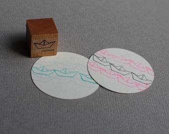 Stamp Paper Boat - Papierschiff