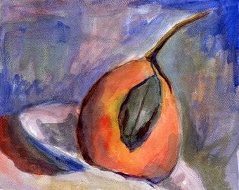 Cezanne's Pear