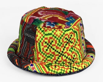 991ed3577e7cb Funky Tribal Patchwork Hat