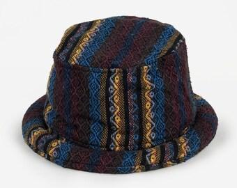 f49f5fa689f Hippie Mens Bucket hat - Tribal Inspired