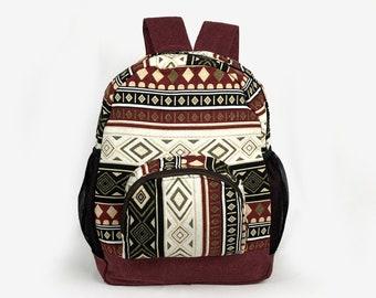 bf3de520a4 Boho Hippie Backpack - Native Inspired
