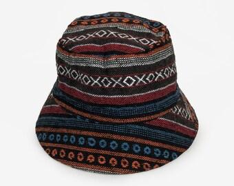 60d26df74e81e Fishing Hat, Party Funky Festival hat, Hippie Boho Bucket hat, Unisex Sun  hat, Brimmed hat, Beach hat, Eimer hut, Femme Chapeau de seau