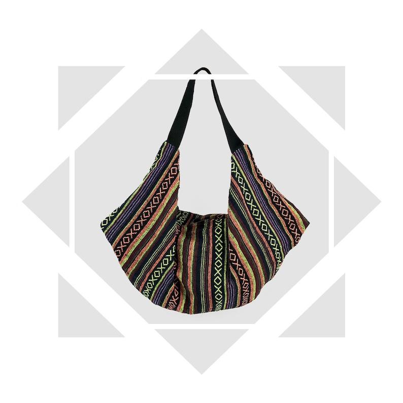 cc2d6bfca99b Hippie Chic, Oversized Hobo bag, Ethnic Slouchy Bag, Big Shoulder Bag  Purse, Fabric Handbag, Boho bag, Carryall bag, cadeaux pour les femmes