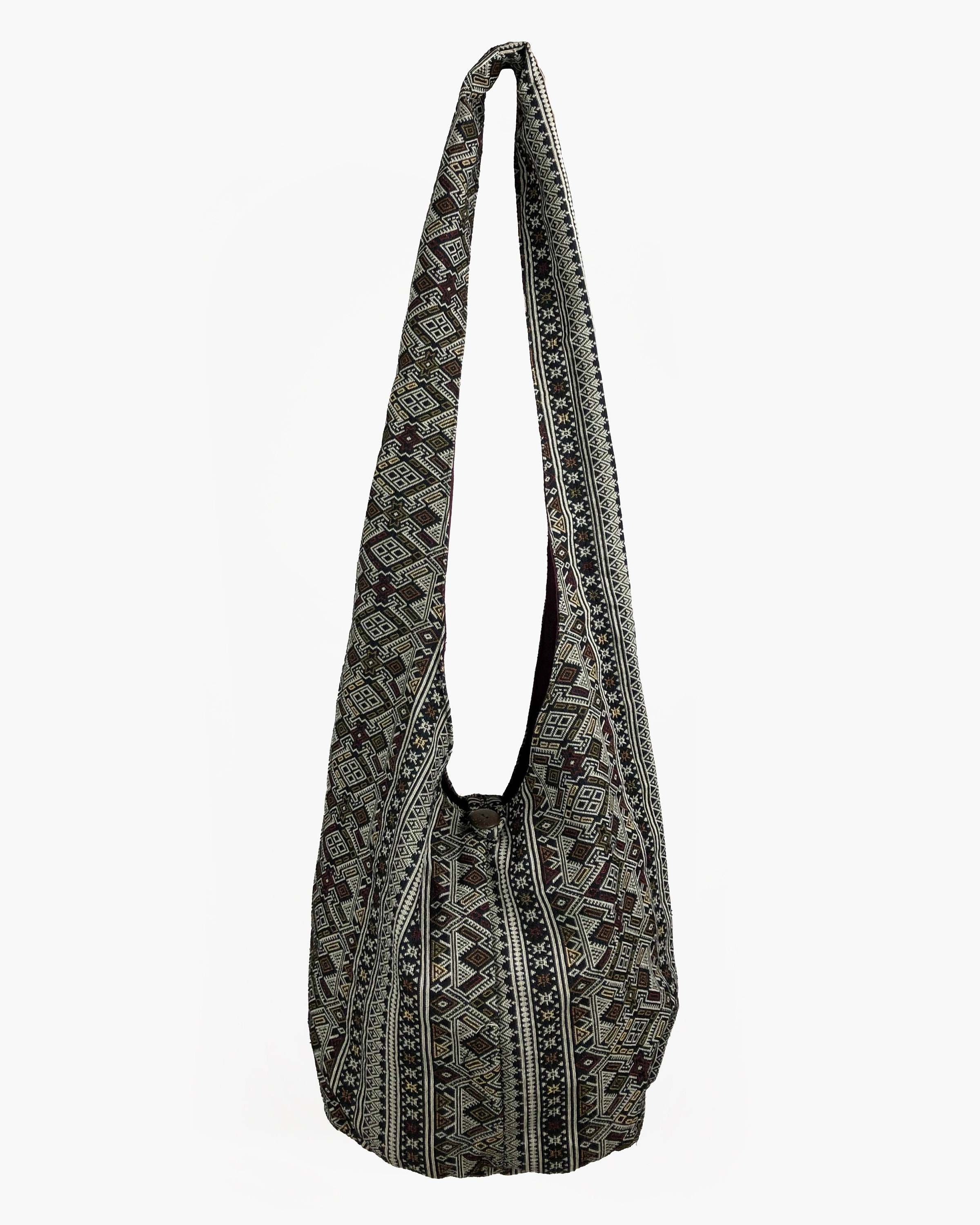 2061ed62ef83 Hippie crossbody bag purse, Ethnic Sling Bag - Unisex