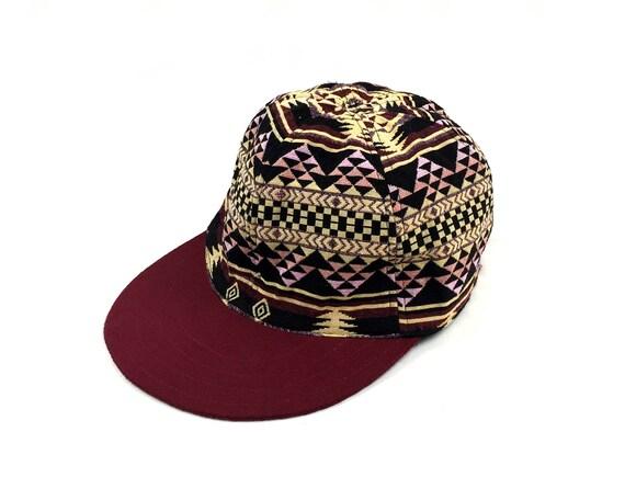 bce9aff82d80e1 Girls Cap Aztec Woven textile Hip Hop baseball cap | Etsy