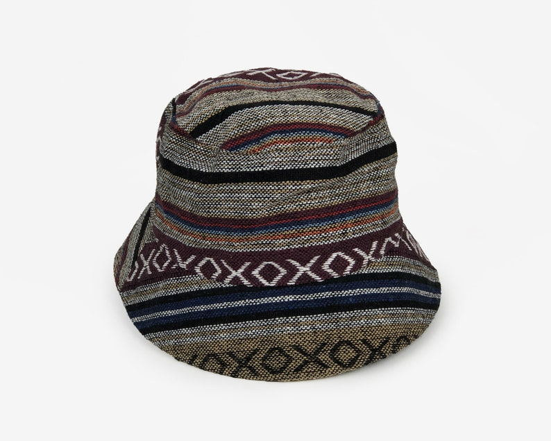 Hippie vintage Bucket hat Unisex Boho hat Sun hat Summer  9d9e9f6902db