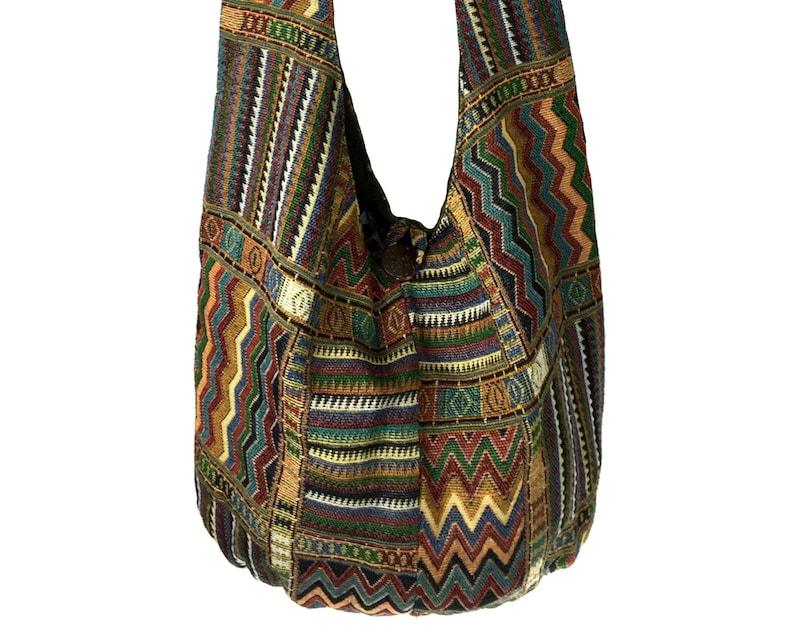 Hippie Waist Purse Vegan Belt Bag Utility belt Native Hip bag Unisex Festival Fanny Pack Ethnic tribal bag bauchtasche Large Bum bag
