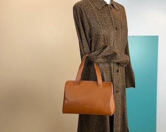 46cb33f99c6 PRADA - 90s Prada Saffiano Leather Bowler Bag