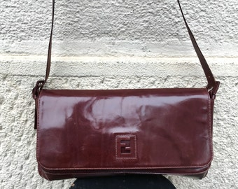 Items similar to the Vintage Fendi Bag   80s Fendi  90s fendi ... a5437c14f1103