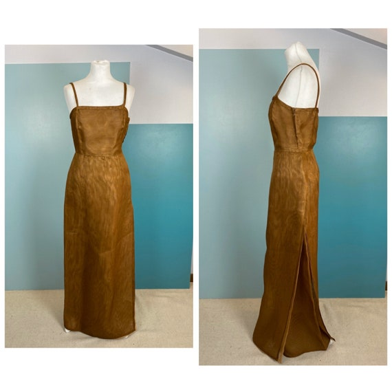 70s Raffia Long Dress - Size S