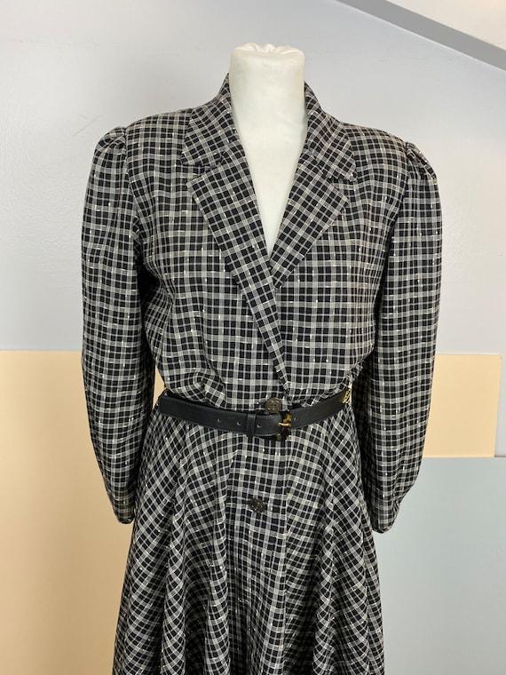 Size M   GUCCI - 70s Wool Shirtdress - image 2
