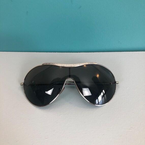 VALENTINO - Vintage Valentino Oversize Sunglasses - image 7