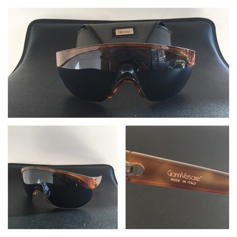 e39bf1016a55 GIANNI VERSACE 70s Gianni Versace Shield Sunglasses