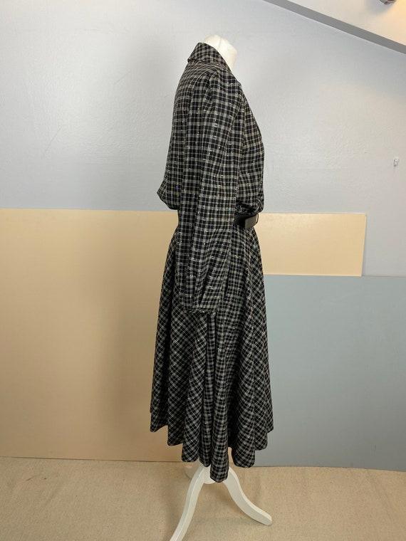 Size M   GUCCI - 70s Wool Shirtdress - image 5