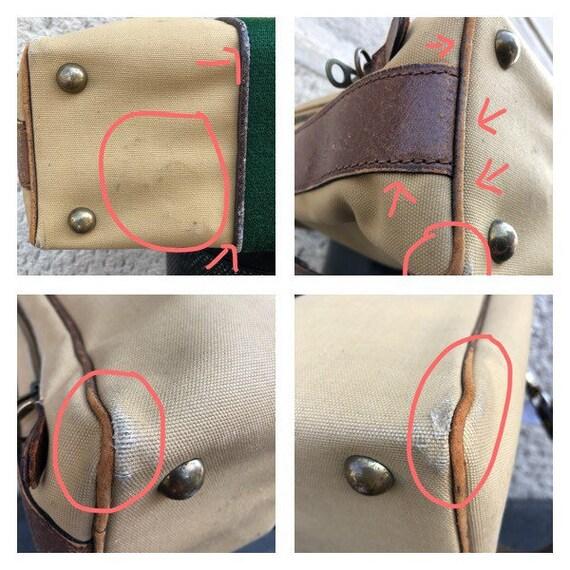 GUCCI - 70s Gucci Cavas and Boar Leather Briefcas… - image 10
