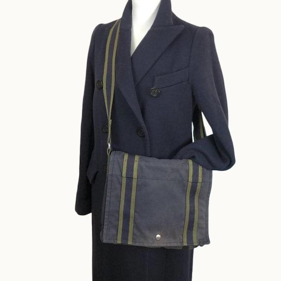 HERMÈS - Vintage Hèrmes Canvas Crossbody Bag