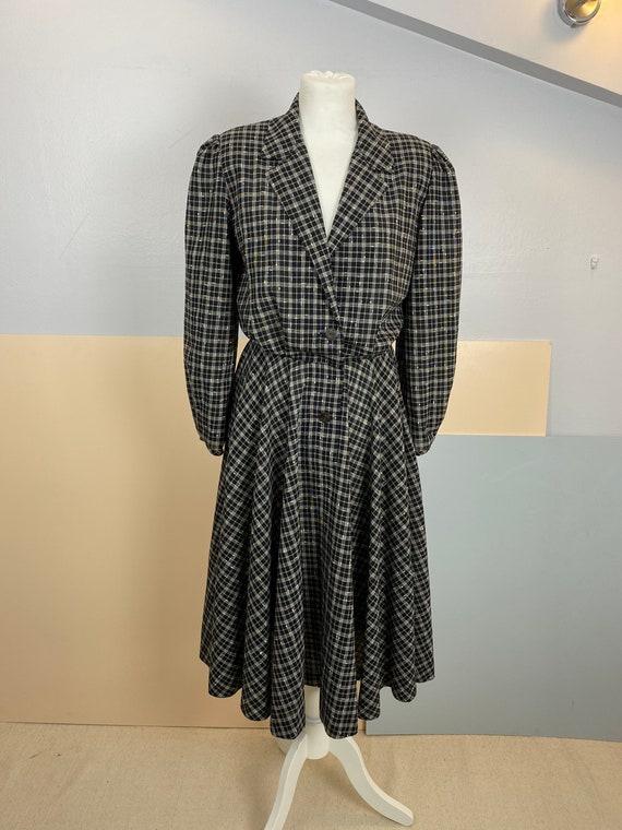 Size M   GUCCI - 70s Wool Shirtdress - image 7