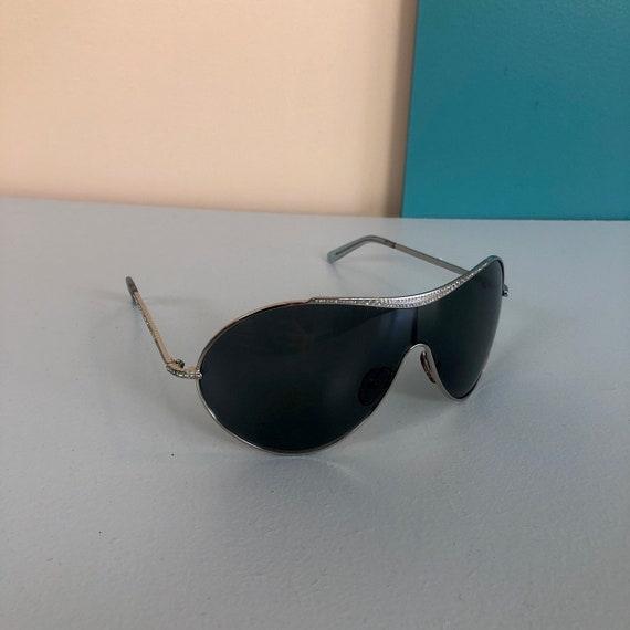 VALENTINO - Vintage Valentino Oversize Sunglasses - image 3