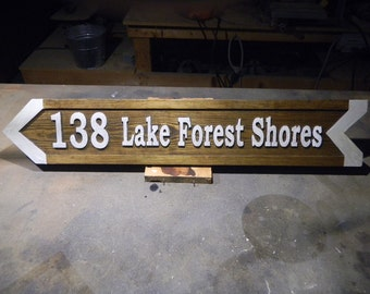 Signs, Wooden, Custom Designed, Hand Carved, Directional, Reclaimed, Cedar, Rustic, Decorative, Permanent, Reflective Coating,