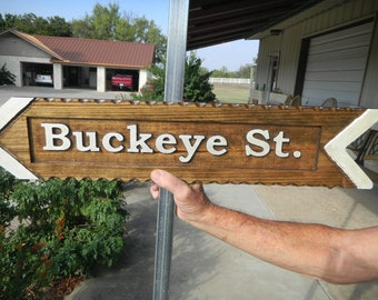 Wood, Carved, Custom Designed, Hand Made, Street, House, Signs, Directional, Animal Signs, Refelective, Cedar, Long Lasting, House Number,