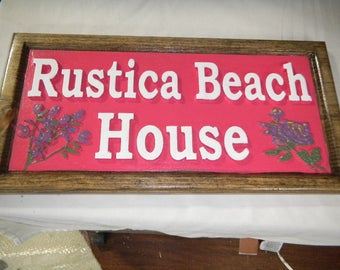 Carved wooden sign, Custom Designed and Carved, Rustic, Re-claimed Wood, Weather Resistant, One of a Kind, Rustic,Boat House, Cabin,