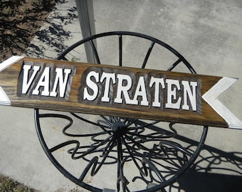 Street Signs, Directional, Custom Designed, Custom Carved, Cedar, Refelective Finish, UV Protective, Name Sign, Rustic, Reclaimed Cedar.