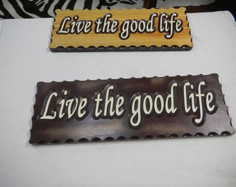 Carved Signs, Wood Signs, Reclaimed, Various Woods, Statement Sign, Custom Designed, Wall Plaques, Wall Hangings, Decorative Signs,