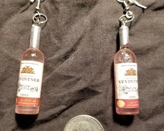 Cute Wine Bottle Earrings