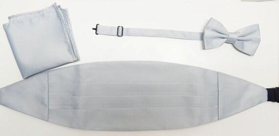mens silver drap e grise valeur ajustable ceinture et une etsy. Black Bedroom Furniture Sets. Home Design Ideas