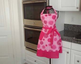 Breast Cancer awareness apron!