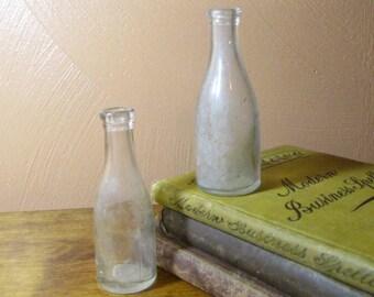 """Cute Little Vintage """"Sample"""" Bottles (2)"""