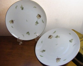Vintage Harmony House Small Plates - West Wind Pattern - Set of Two (2)