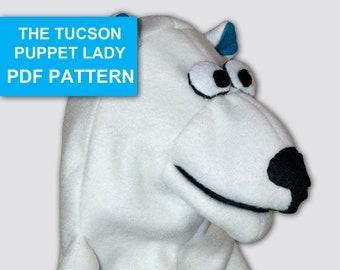 Bear Puppet Sewing Pattern