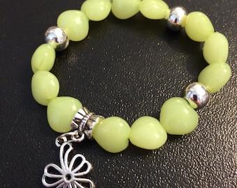 Flower & Hearts Bracelet