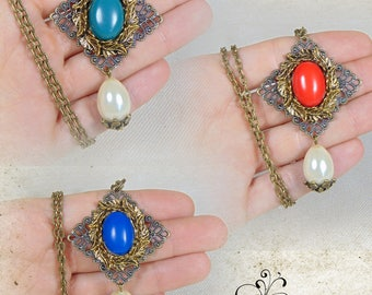 """Renaissance """"Lady Clotilde"""" necklace"""