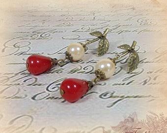 """Earrings """"Lady Constance"""""""