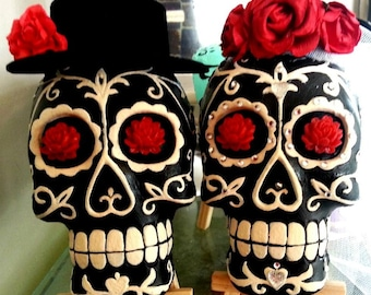 Sugar Skull Couple - Bride and Groom