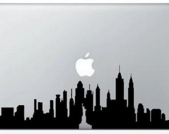 New York City Skyline for MacBook stickers