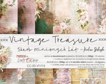 Craft O'Clock Paper - Vintage Treasure Paper Collection