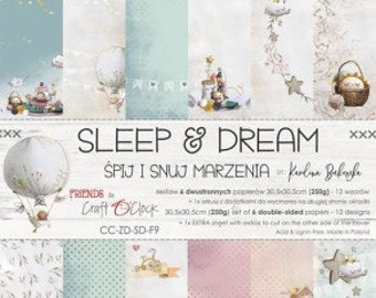 Craft O'Clock Paper - Sleep and Dream Paper Collection