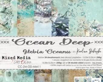 Craft O'Clock Paper - Ocean Deep Paper Collection