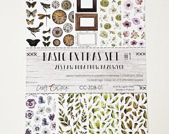 Craft O'Clock Paper - Basic Extras to Cut Set #1