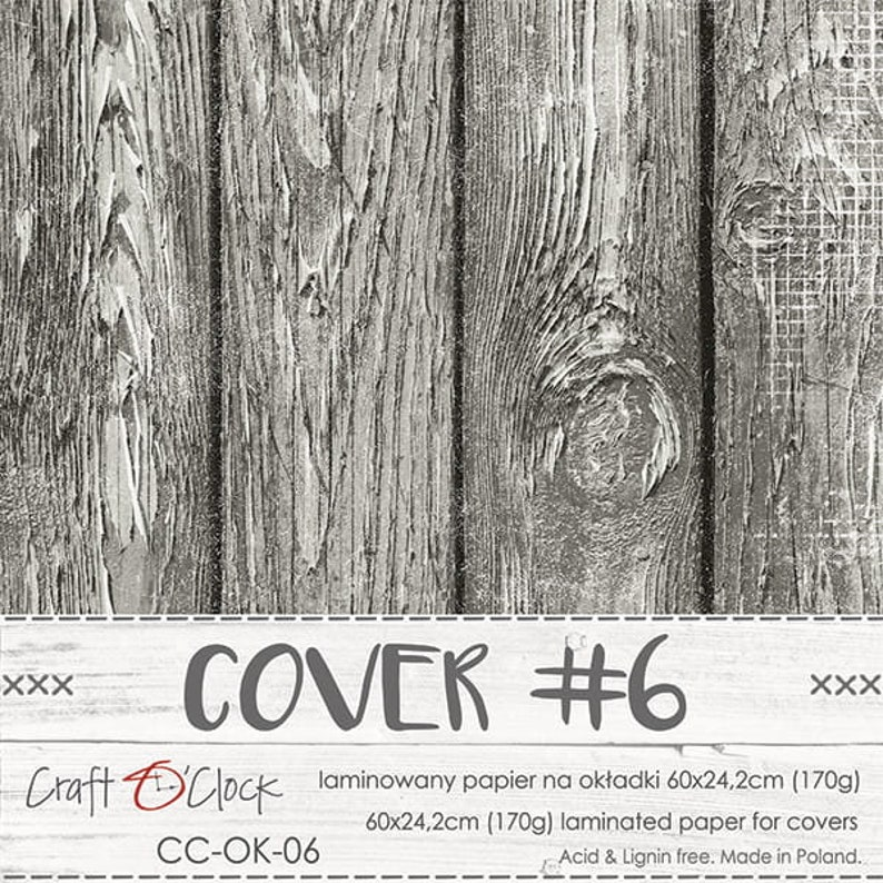 Mini-Album Covers  Craft O'Clock Paper Cover #6
