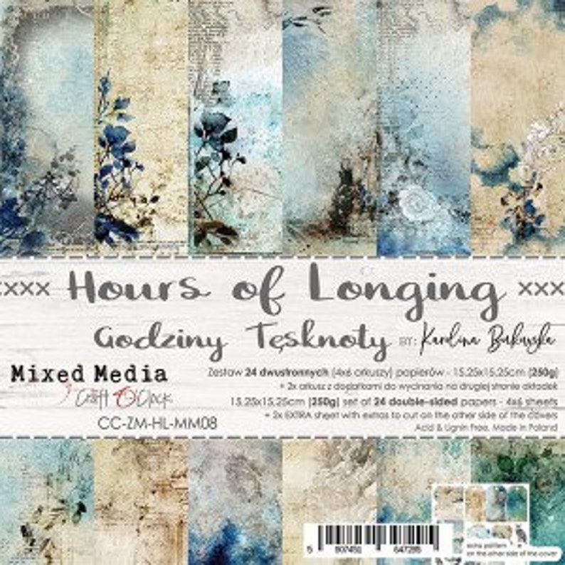 Craft O'Clock Paper  Hours of Longing Paper Collection image 0