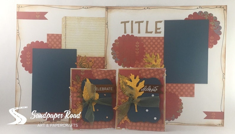 CLASSES  Scrapbooking and Cardmaking  2 layouts & 2 cards image 0