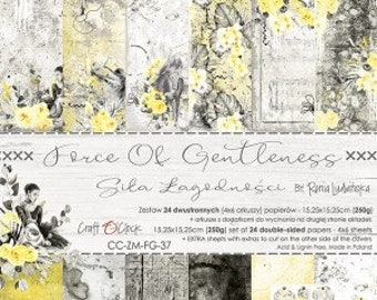 Craft O'Clock Paper - Force of Gentleness Paper Collection