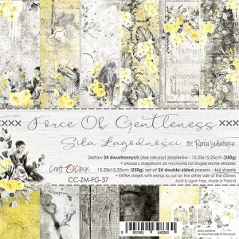 Craft O'Clock Paper  Force of Gentleness Paper Collection image 0