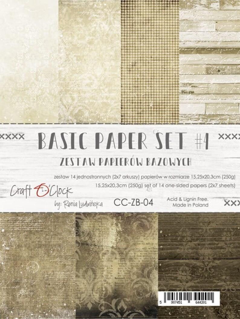 Craft O'Clock Paper  Basic Set 4 image 0