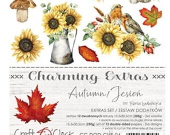 Craft O'Clock Paper - Charming Extras - Autumn